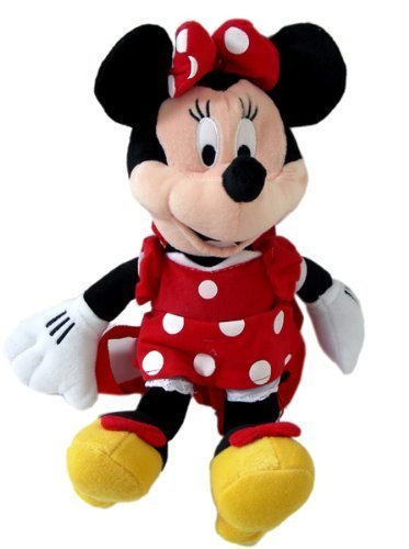 Qoo10 - Disney Minnie Mouse Large Plush Doll Toy Backpack   Women s ... f9c9d48a52