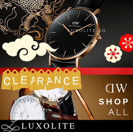 {LUXOLITE} WAREHOUSE CLEARANCE 100% AUTHENTIC WATCHES FOR MEN WOMEN SERIES