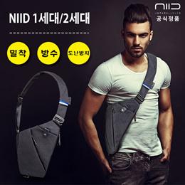 NIID FINO 가방/남성 크로스백/슬링백/디지털 수납백/ 가방/