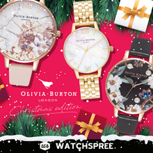 *USE 25% OFF COUPONS* [XMAS SPECIAL]Olivia Burton Christmas New Arrivals. Free Shipping and Warranty