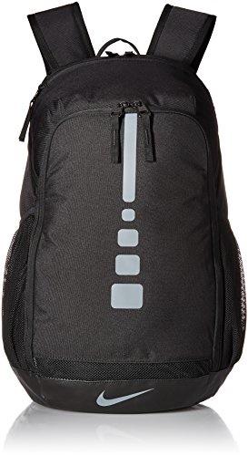 9452a58e38 Nike Hoops Elite Varsity Basketball Backpack Black Cool Grey Size One Size
