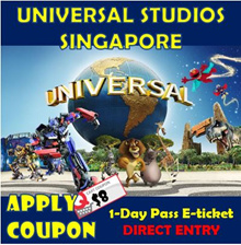 ★QOO10 LOWEST PRICE+$8 COUPON★Universal Studios Singapore Admission ticket  / USS E-ticket /uss