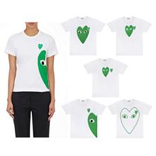 Colette Garth Short Sleeve Polo Green Heart Women