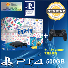 [Gaming World] SONY Playstation 4 PARTY Bundle. FIFA 2019 + Overcooked II (Physical Game Copy) PLUS Additional Controller! Local Stocks and 27 Months Warranty!