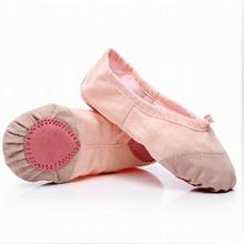 a60268bc2 Children Soft Sole Girls Ballet Shoes Women Ballet Dance Shoes For Kids  Adult Ladies