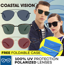 COASTAL VISION 2017 sunglasses anti UVA/B lenses
