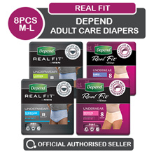 [Kimberly Clark] Depend Adult Care Diapers