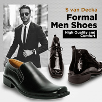 NEW COLLECTION - S van Decka Shoes - Formal Men Shoes - High Quality and Comfort - BEST PRICE !!