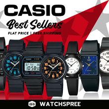 [CHEAPEST PRICE IN SPORE] *CASIO GENUINE* Casio Best Sellers Watches. Free Shipping!