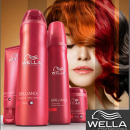 ★For colored hair★Wella professional Brilliance 1000ml / shampoo mask and treatment