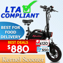 ⭐🛴Best 12/12 Special🛴E-Scooter🛴Christmas Sales ⭐ AM_GT⭐ LTA APPROVED ⭐ Best for Food delivery ⭐Coupon available⭐