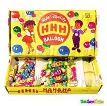Mainan Anak Balon Tiup odol Jadul HHH HA HA HA Balloon Super Quality