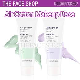 ★The Face Shop★ Air Cotton Makeup Base SPF30PA++40ml