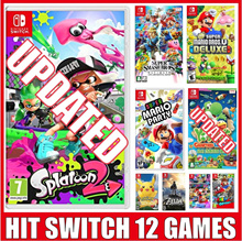 [Nintendo Switch] Hit Game Collection / Super Smash Bros  / Party / Cart / Lets go /U Deluxe