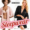 New Collection Branded Kimono Sleepwear - Short Pants Sleepwear - 2 Style
