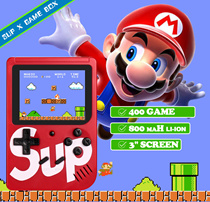 Lowest price $8.9❤ Sup X Game Box Retro Handheld Two Game Console Emulator Built-In 400 Games Old Ti