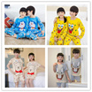 BUY  2 IN 1 SHIPPING!!! Children cartoon cotton long and short sleeved pyjamas