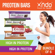 Bundle of 6 Protein Bars