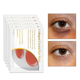 Red Ginseng Gel Eye Mask Patches for the Eyes Skin Care Collagen Crystal Eye Mask Patch Dark circle