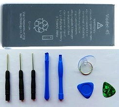 Apple Iphone 6/6P/5/5S/4/4S Replacement Battery/Tool kit free/ original / shot delivery