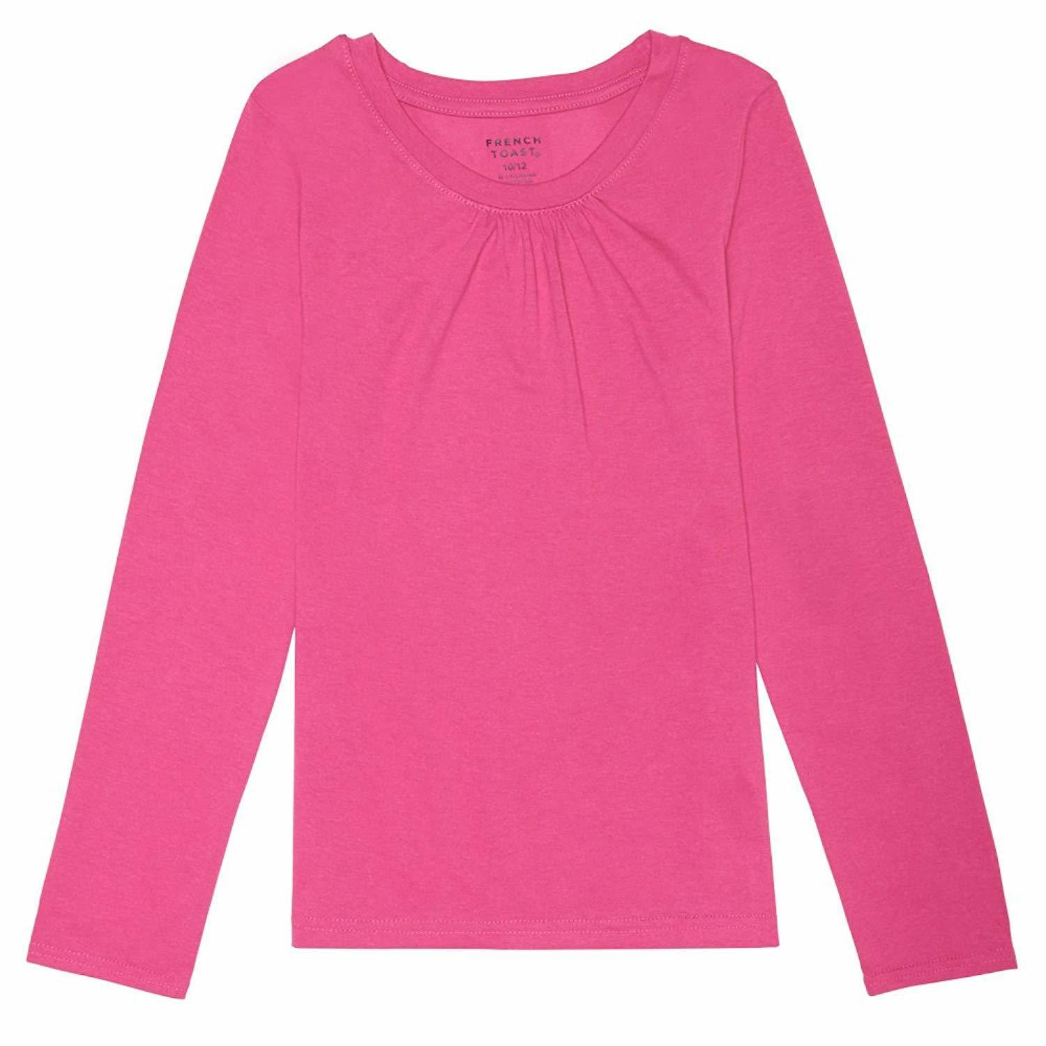 06b2e87d69f fit to viewer. prev next. French+Toast French Toast Baby Girls Long Sleeve  Crew Neck T-Shirt