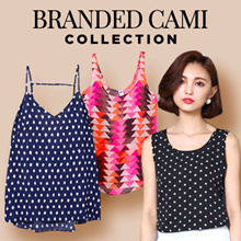 New Collection Branded Women Cami Tanktop 9 Colors - Good Quality