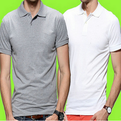 Qoo10 Summer Korean Loose Polo Shirts Men S Casual A Solid Color