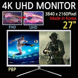 [MONEX] 4K UHD MONITOR M27UHM / 27 inch / LED gaming monitor / remote control / Made in Korea