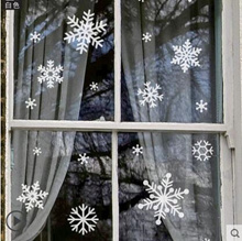 New Year Christmas Snowflake Glass Door Wall Sticker Shop Window Sticker Decoration Sticker Decal Ch