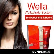 [Wella] 60% OFF Wellastrate - Hair Straightener permanent hair straightening cream kit