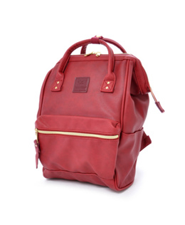 Anello mini backpack PU AT-B1212 - Wine