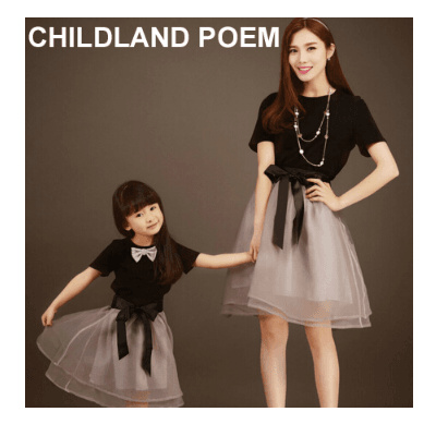 269939fe2a20 matching mother daughter dresses summer T shirt +skirt mom and daughter  dress family look motheR