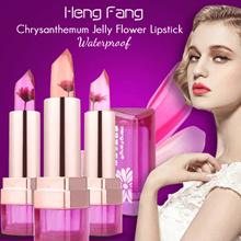 HENG FANG Chrysanthemum jelly flower Lipstick   hengfang magic flower