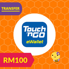 PROMO RM100 Touch N Go TNG eWallet Reload Top Up