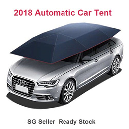 Automatic Car Tent Umbrella Most Suitable for SG Hot Weather Protect Your Loved Car!