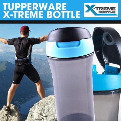 X-Treme Bottle - Teman Setia Pria Saat Berolahraga - Tupperware Men Collection