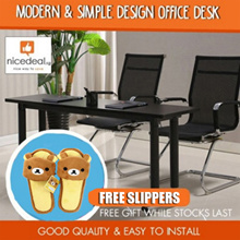 [Must Buy] Modern and simple design/Office desk/Good quality/Free gift