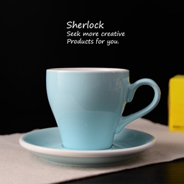 Cup of ceramic cup plate thickening and heightening Mark Cup afternoon tea cup coffee cup water Cup