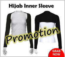 Hijab Inner Arm Sleeve Cover Modesty Extension
