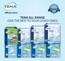 [Apply Q10 Coupon][Official Store] TENA Adult Diapers / Value / Pants / Slip