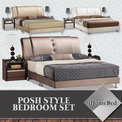 80c896366b2 GREAT DEAL! iHomeBed Posh Style Bedroom Set 6 Models!! Bed Comes with  Mattress