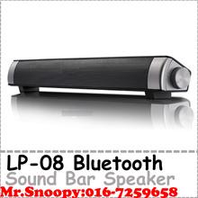 Lp-08 Bluetooth AUX Loud Speaker Sound Bar Bluetooth Speaker