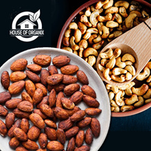 Cemilan Sehat Kaya Serat Gak Bikin OVER WEIGHT//ROASTED Almond 250 GR/ ROASTED Cashew 250 GR