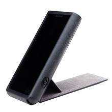 SONY Walkman original leather case Black for CZL-NWZX 300 B for ZX 300 series