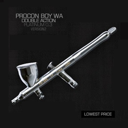 FREE SHIPPING★Procon BOY WA Platinum Ver.2 Double action type 0.3 mm PS289!!