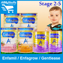 【ENFAMIL/ENFAGROW】A+ Milk Powder (Stage 2/3/4/5) ★ Gentlease (Stage2/3)