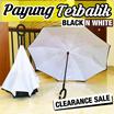 Payung Terbalik BLACK and WHITE Ed. handle C . kualitas terbaik dengan harga termurah.