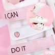 【送料0円年末イベント中】【SPAO】スパオ 可愛いモモスニーカー/3タイプ/ベルコロ/ピンク/桃/23~25サイズ対応・ ピーチピンク/Peach Pink Velcro Mix sneakers Womens shoes 3type I CAN DO IT!! shoes
