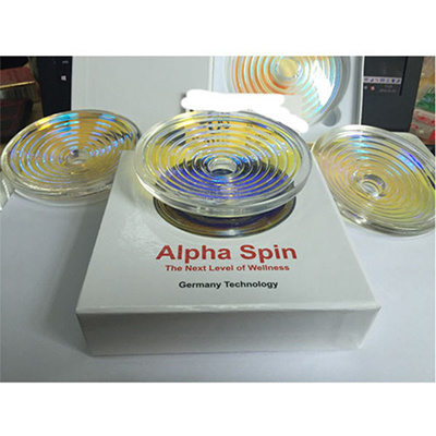 Scalar Energy Alpha Spin 4th with Ion Alphaspin Natural Healthiest Energy  Field(1 pcs)