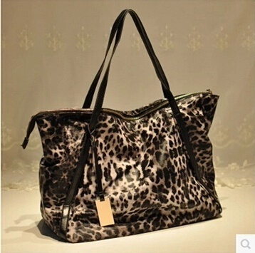 Europe and America leopard bag big bag retro new wave of female bag handbag  shoulder bag 03398cdf93d2b